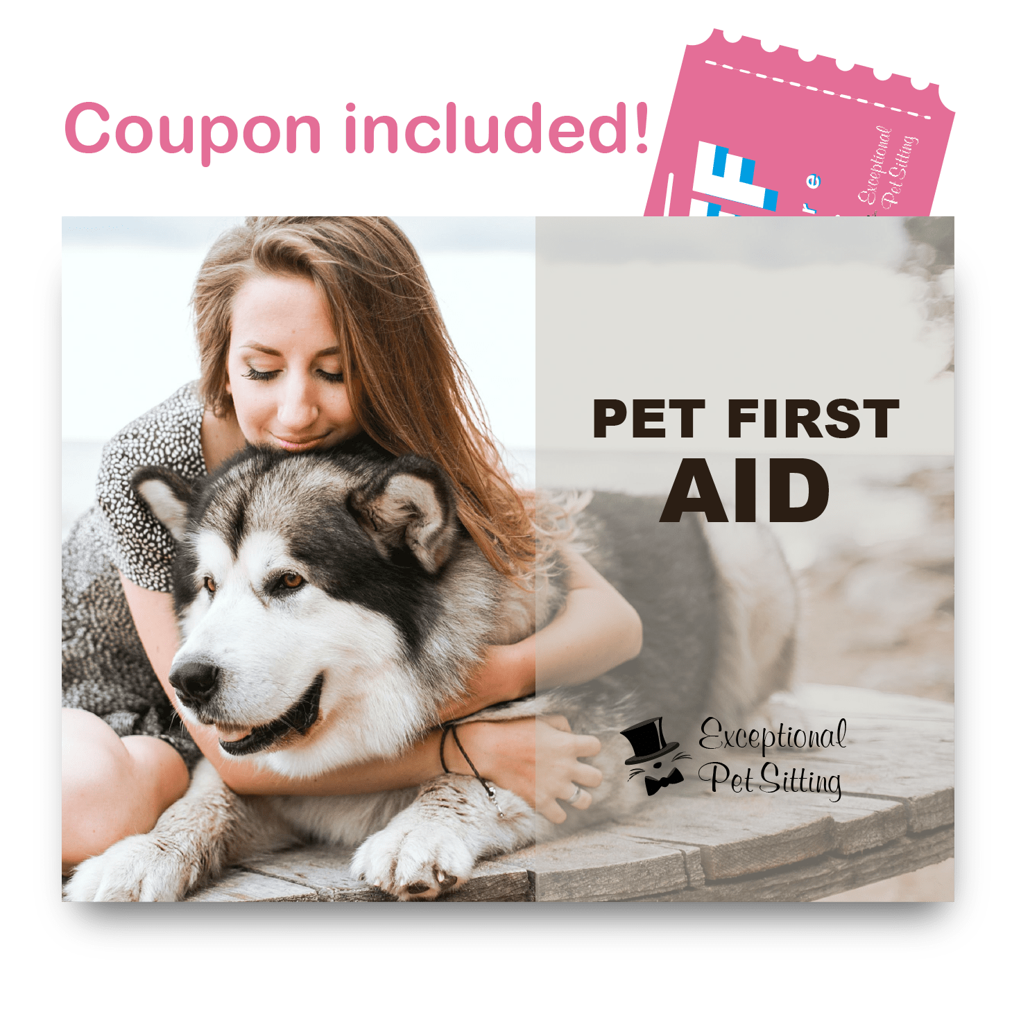 Exceptional Pet Sitting Brochure and Coupon